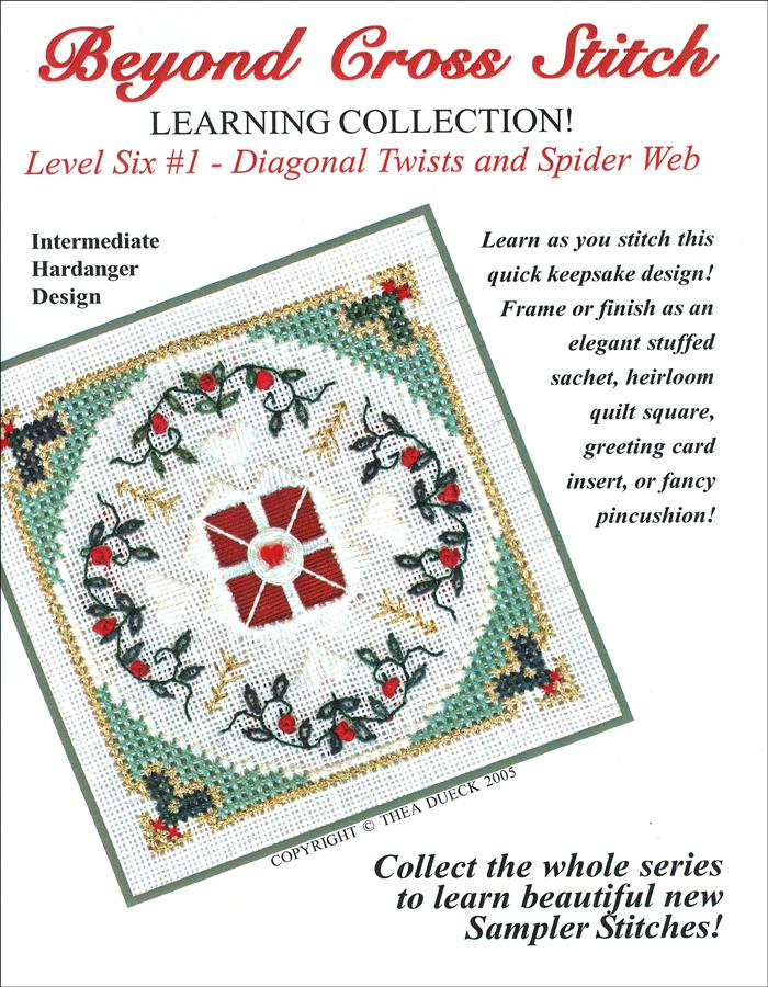 The Victoria Sampler - BCS 6-01 Cranberry Wreath Student Kit  - needlework design company