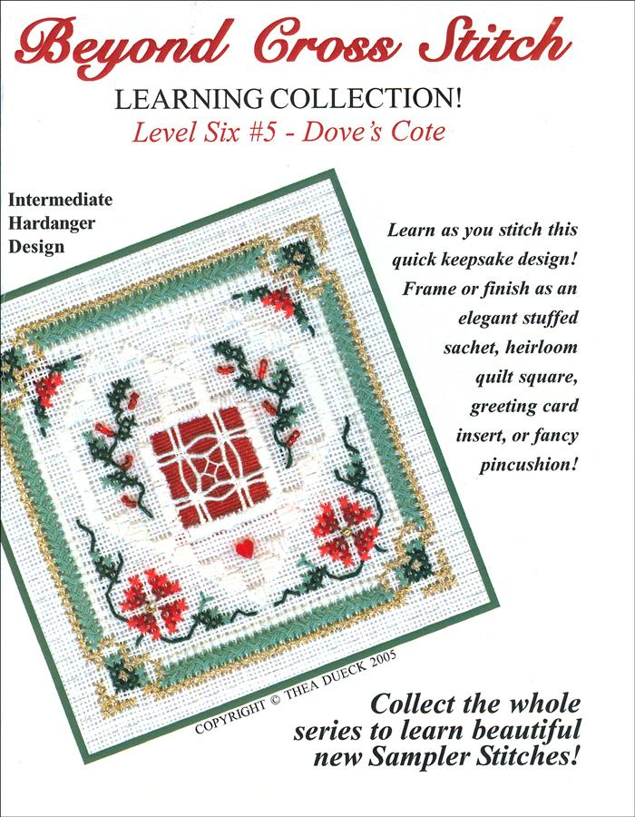 The Victoria Sampler - BCS 6-05 Christmas Greens Student Kit  - needlework design company