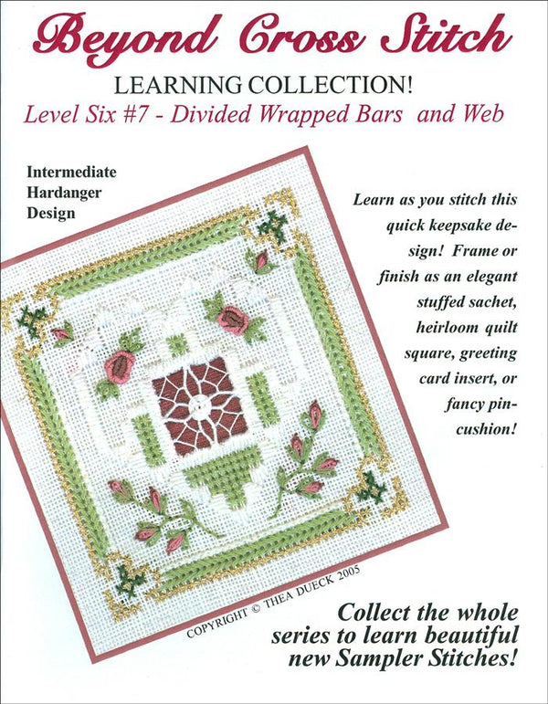 The Victoria Sampler - BCS 6-07 Lavender Roses Student Kit  - needlework design company