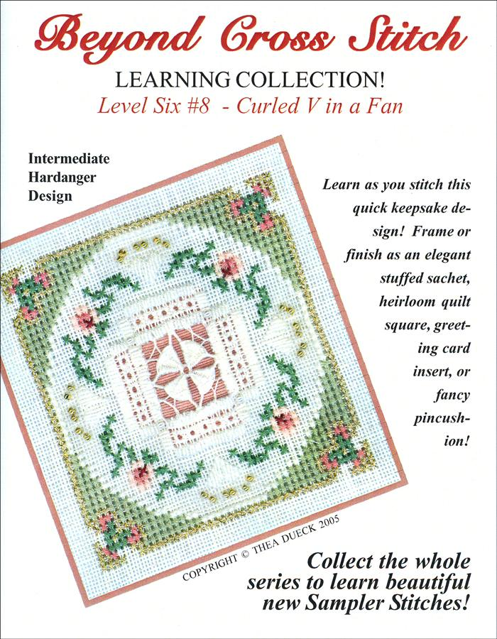 The Victoria Sampler - BCS 6-08 Fans and Roses Student Kit  - needlework design company