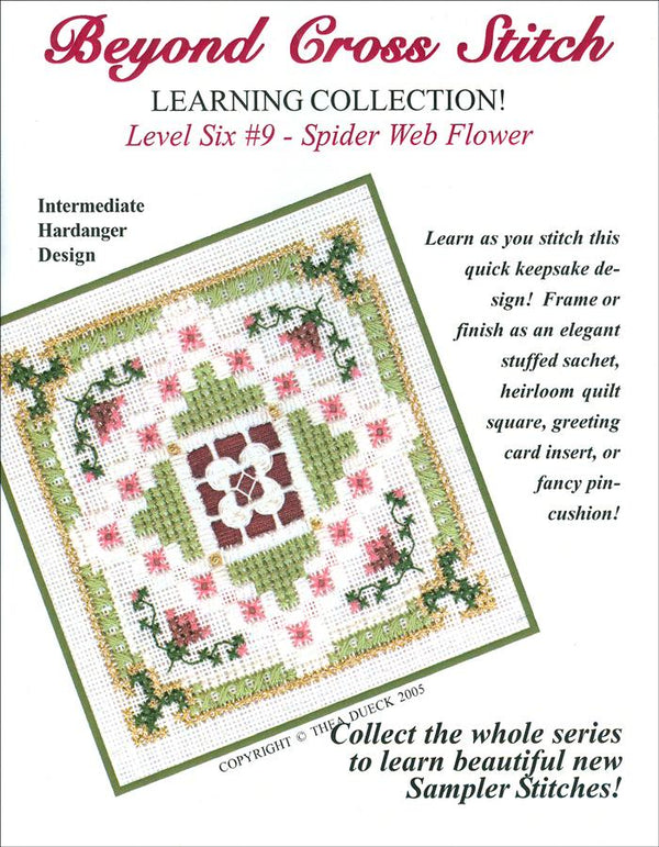The Victoria Sampler - BCS 6-09  Thistles Student Kit  - needlework design company