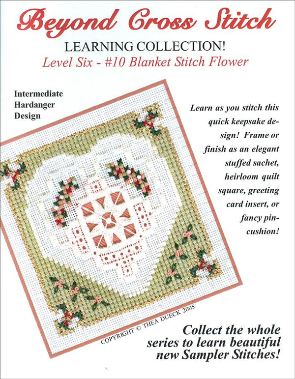 The Victoria Sampler - BCS 6-10 Spring Heart Student Kit  - needlework design company