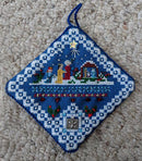 Nativity Ornament - PDF Downloadable Chart