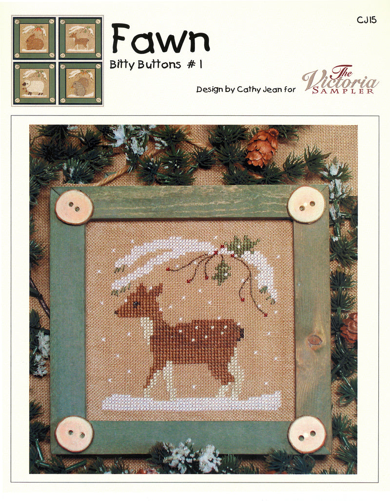 Bitty Buttons Fawn Chart