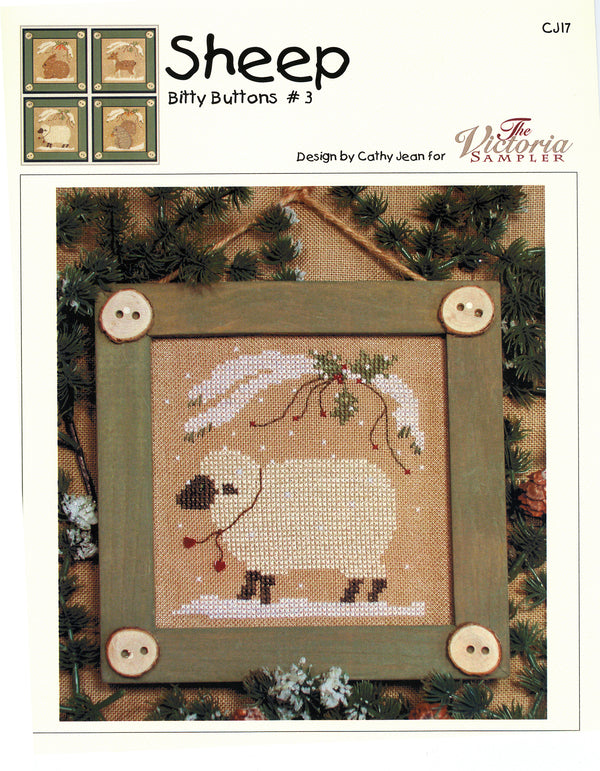 Bitty Buttons Sheep Chart