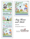 Stay Home and Stitch - PDF Downloadable Chart