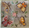 Butterfly Biscornu - PDF Downloadable Chart