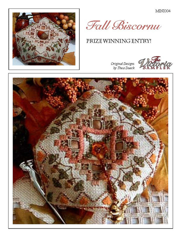 Fall Biscornu Mini (Downloadable PDF)