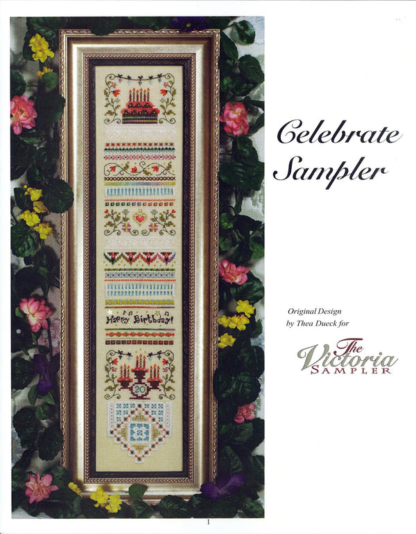 The Victoria Sampler - Celebrate Sampler Student Kit (S_NE)  - needlework design company