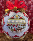 Woodland Christmas Ornament - PDF Downloadable Chart