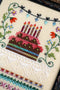The Victoria Sampler - Celebrate Sampler Leaflet  - needlework design company