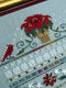 The Victoria Sampler - Poinsettia Place Sampler Leaflet  - needlework design company