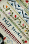 The Victoria Sampler - Tulip Terrace Sampler Leaflet  - needlework design company