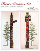 The Victoria Sampler - First Nations Designs in B.C. Leaflet  - needlework design company
