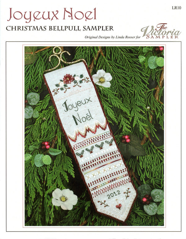The Victoria Sampler - Joyeux Noel Chart  - needlework design company