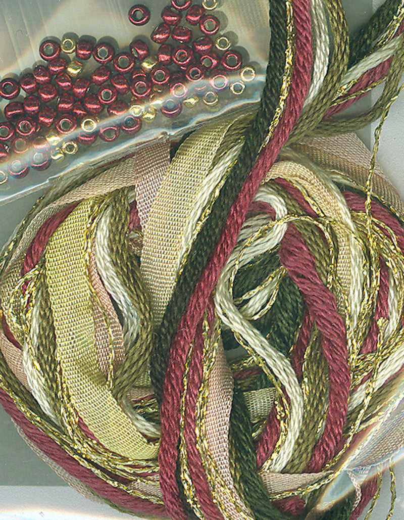 The Victoria Sampler - Christmas Spools AccPack  - needlework design company