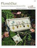 The Victoria Sampler - Floral Etui Chart  - needlework design company