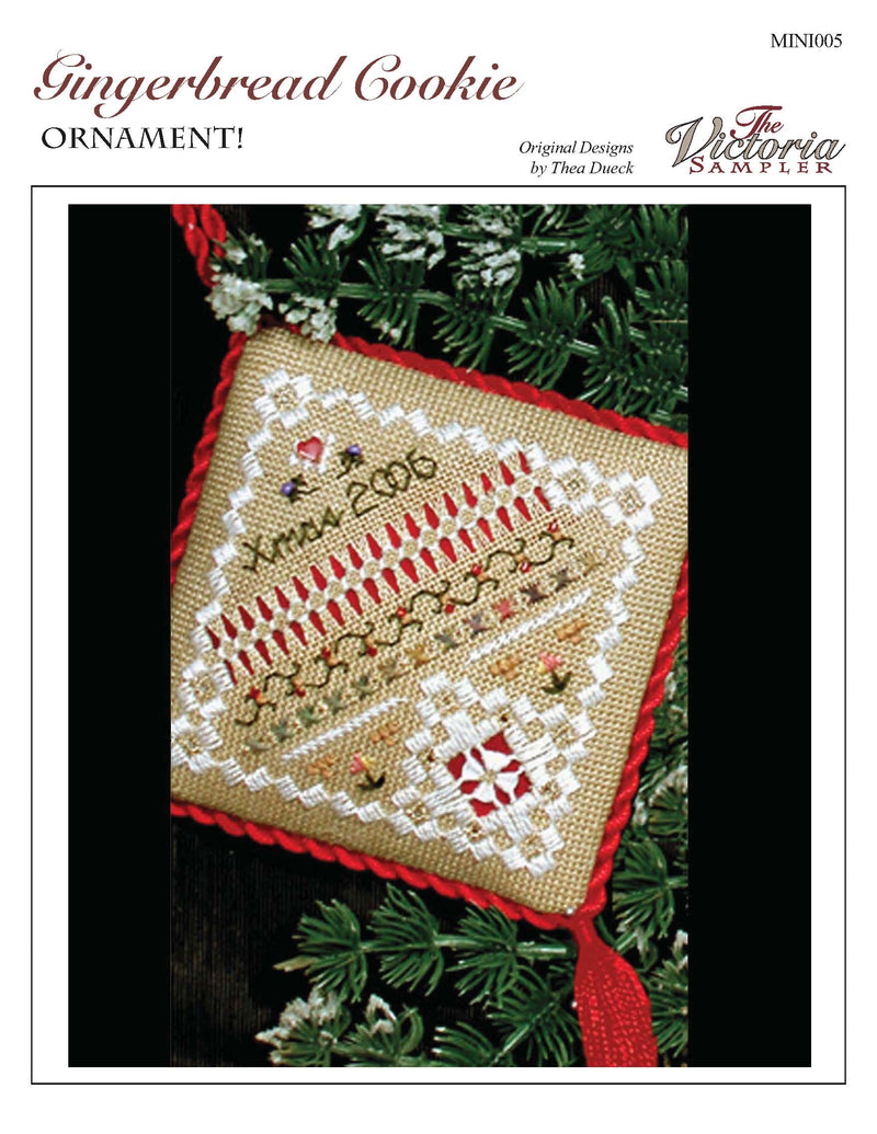 Gingerbread Cookie Ornament (Downloadable PDF)
