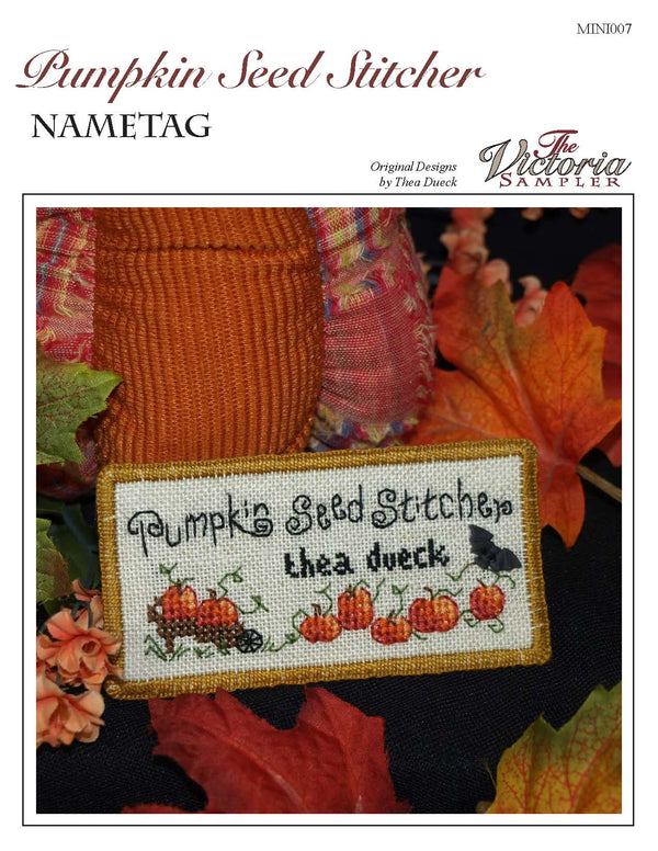 Pumpkin Seed Nametag Mini (Downloadable PDF)