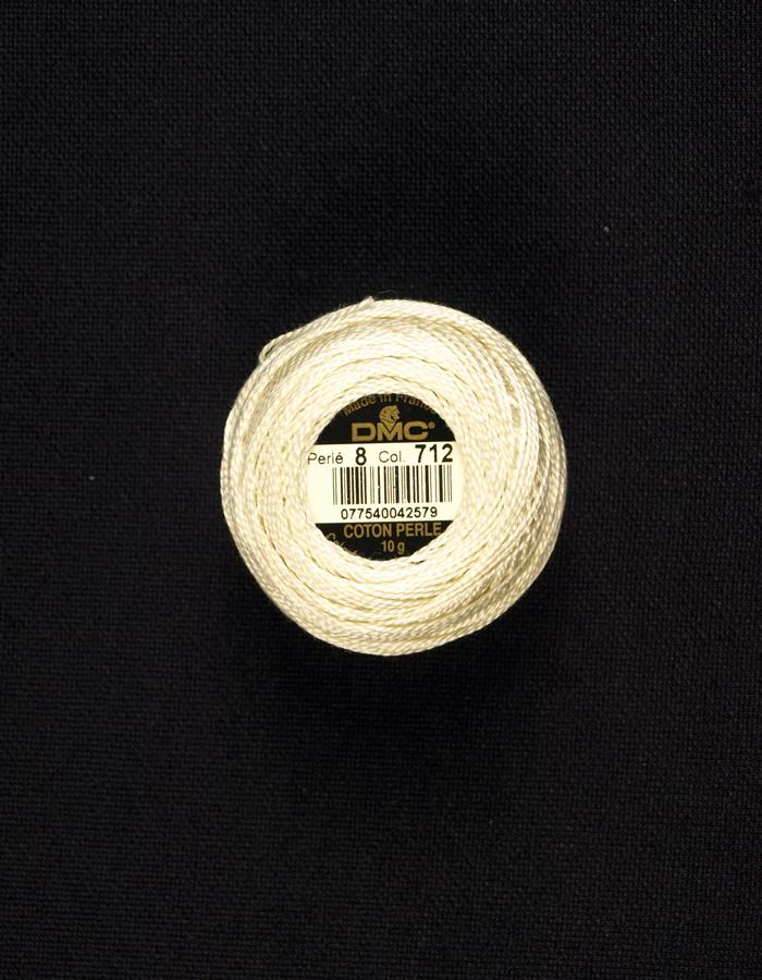 DMC #8 Perle Cotton #712 creme - 85M Pack (S_NE)