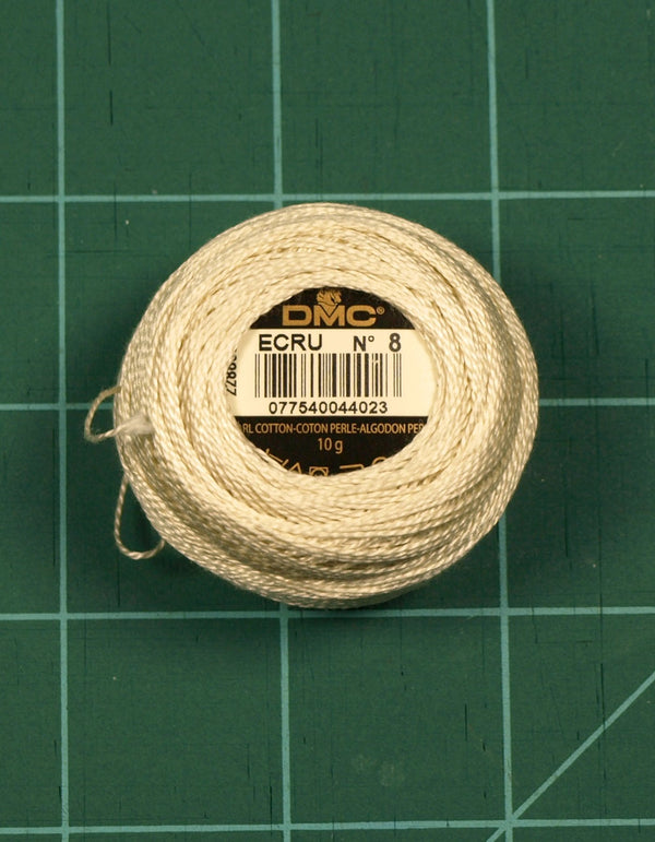 The Victoria Sampler - DMC #8 Perle Cotton #ECRU - 85M Pack (S_NE)  - needlework design company