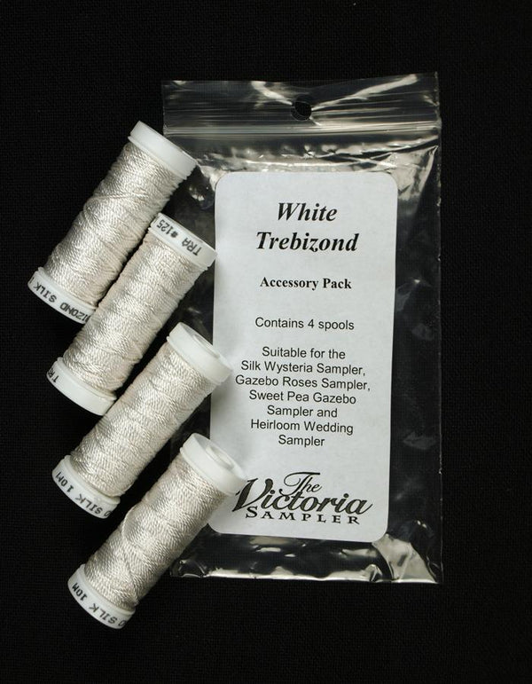 The Victoria Sampler - Trebizond White 4 Spool Pack (S_NE)  - needlework design company
