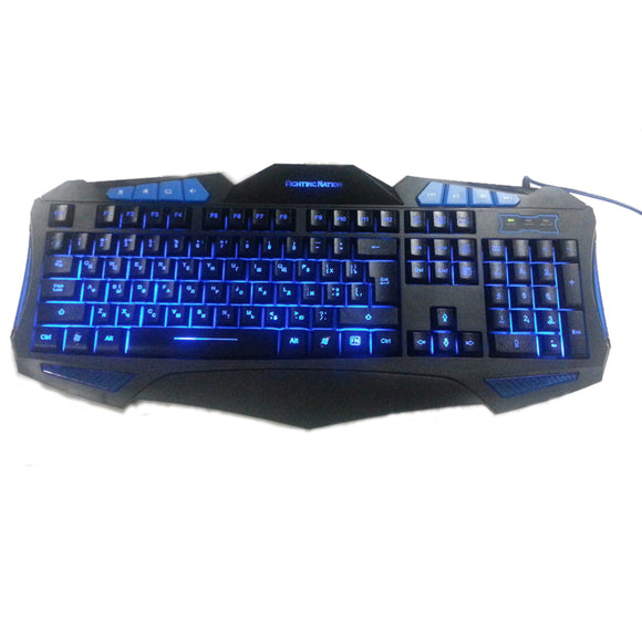Russian Backlit Illuminate Gaming Keyboard