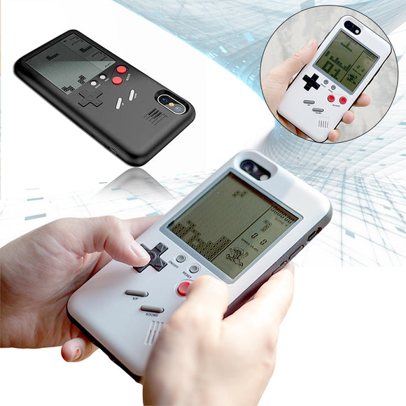 Gameboy Tetris Phone Cases for Iphone 6-7-8-X