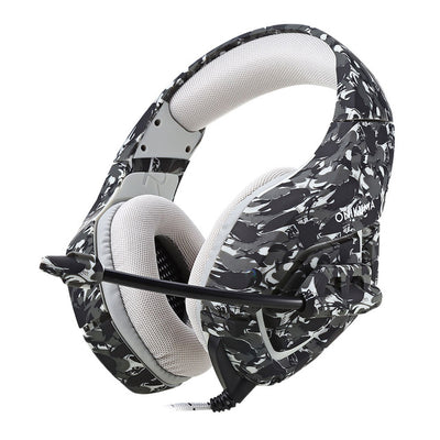 Stereo Wired Gaming Army Camouflage Headset