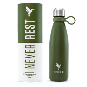 Vacuum Bottle - Khaki Green - 500ml Vacuum Bottle