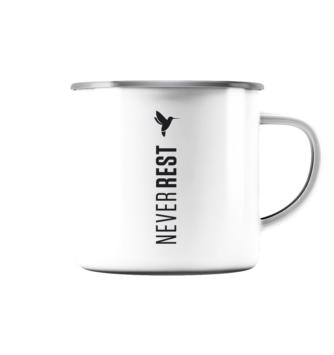 NV Bird - Emaille Tasse