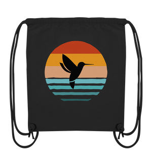 Retro Bird - Organic Gym-Bag