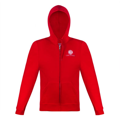 CE Hooded Zip Sweatshirt