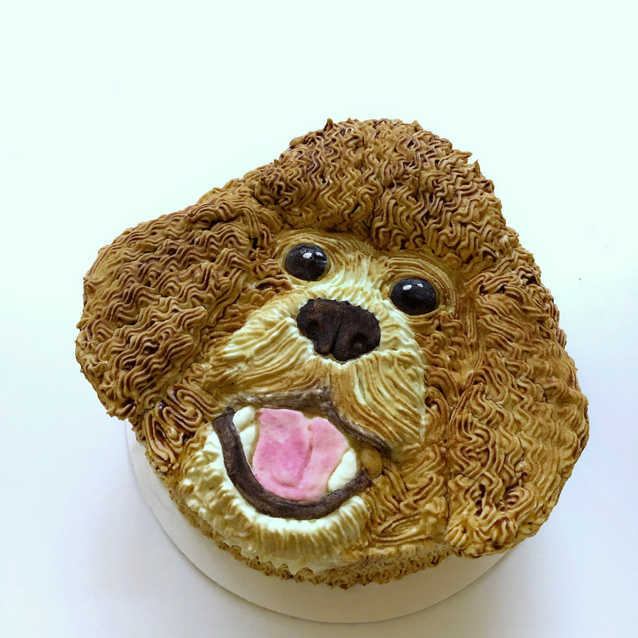 3D portrait dog cake by Spotted Dog Bakery of Doodle