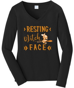 "Long sleeve ""Resting Witch Face"""