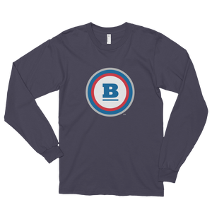 Circle B Long Sleeve T-shirt - Asphalt