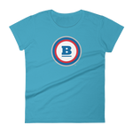 Circle B Women's T-shirt - Caribbean Blue