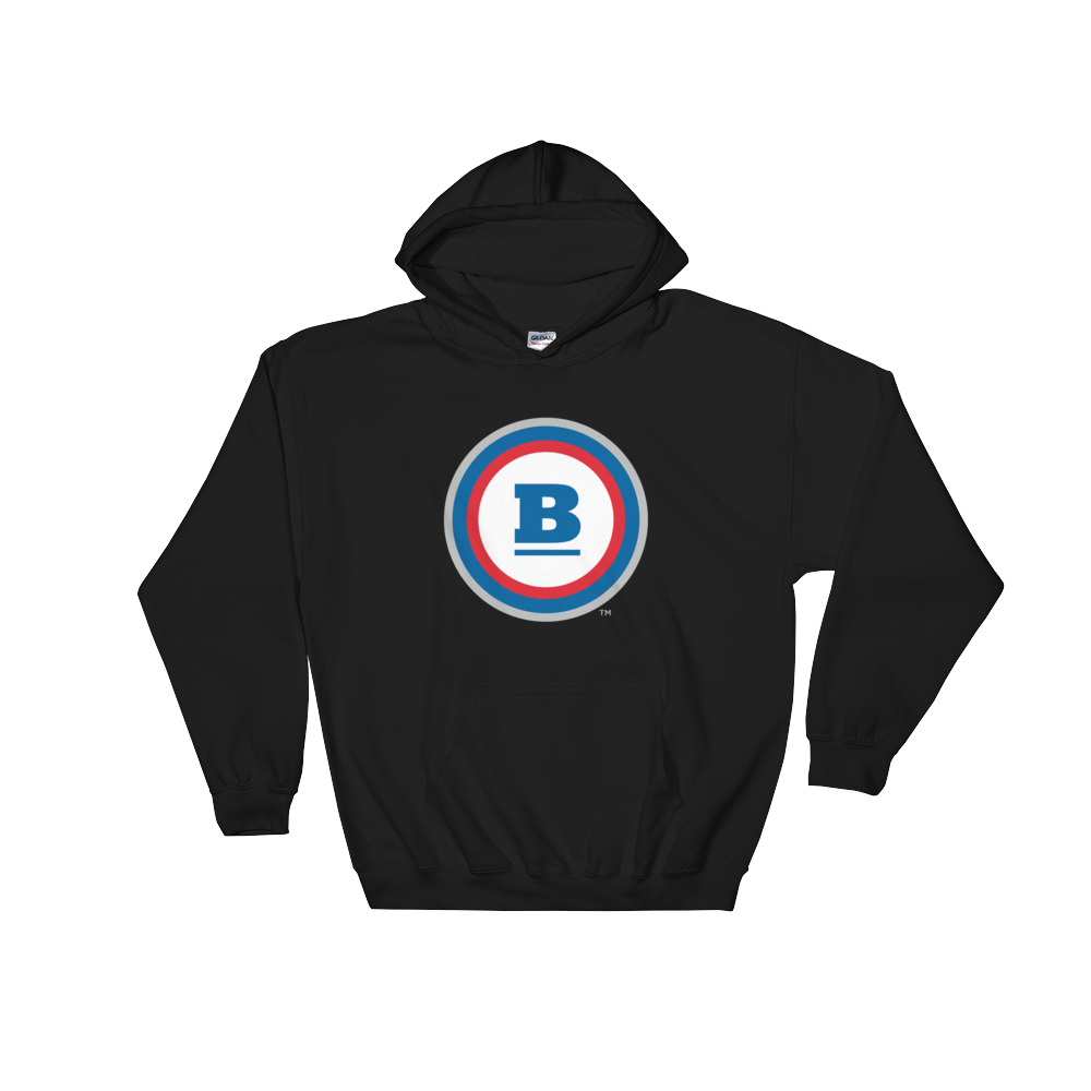 Circle B Hooded Sweatshirt - Black