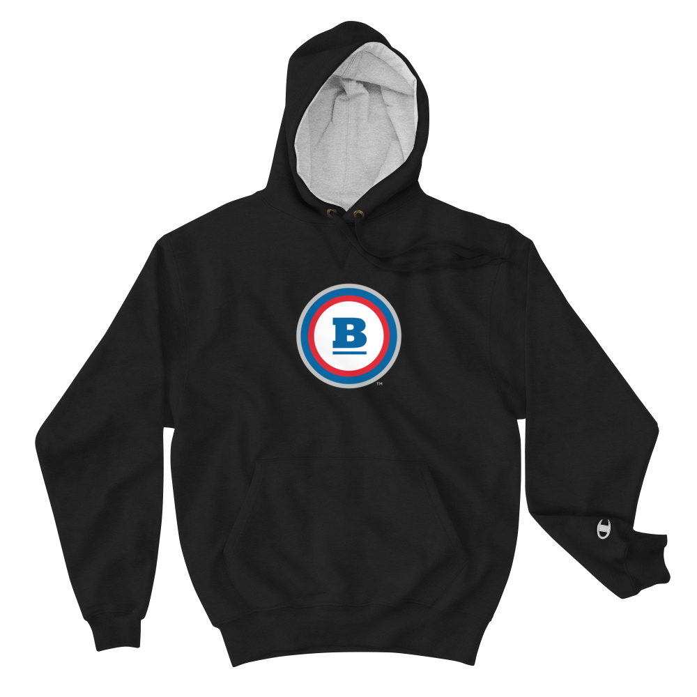 Champion® Circle B Hoodie - Black