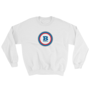 Circle B Crewneck Sweatshirt - White