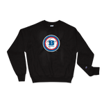Champion® Circle B 'Ice' Crewneck Sweatshirt - Black
