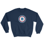 Circle B Crewneck Sweatshirt - Navy