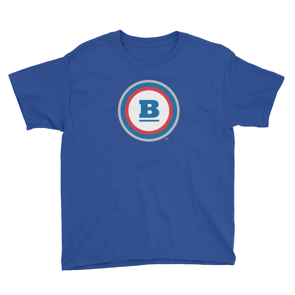 Circle B Youth T-Shirt - Royal Blue