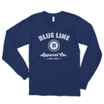 Blue Line Apparel Co. Long Sleeve T-shirt - Navy