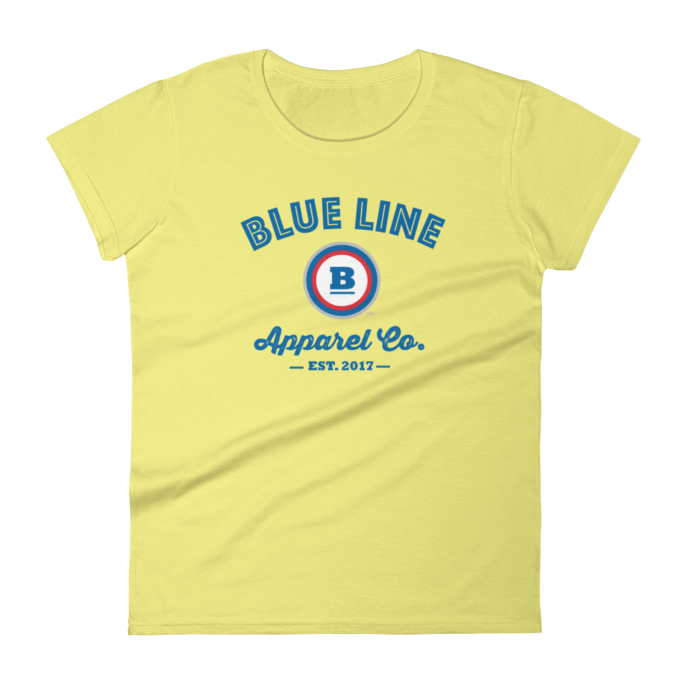 Blue Line Apparel Co. Women's T-shirt - Yellow
