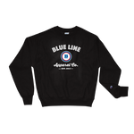 Champion® Blue Line Apparel Co. Crewneck Sweatshirt - Black