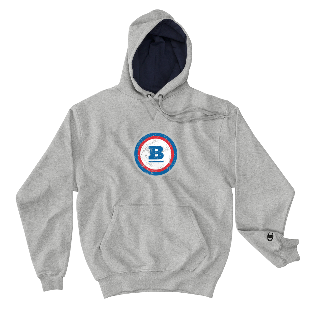 Champion® Circle B 'Ice' Hoodie - Light Steel