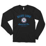 Blue Line Apparel Co. Long Sleeve T-shirt - Black