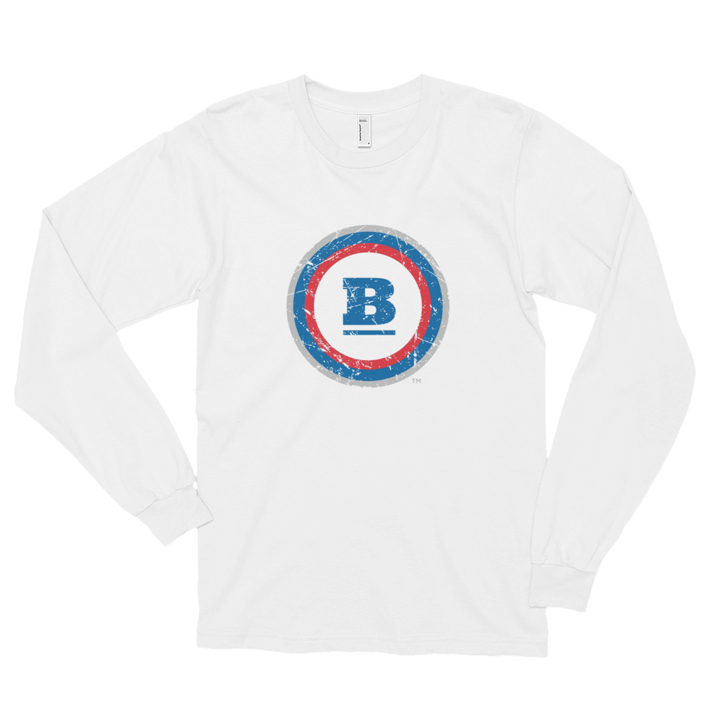Circle B Ice Long Sleeve T-shirt - White