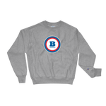 Champion® Circle B Crewneck Sweatshirt - Oxford Grey